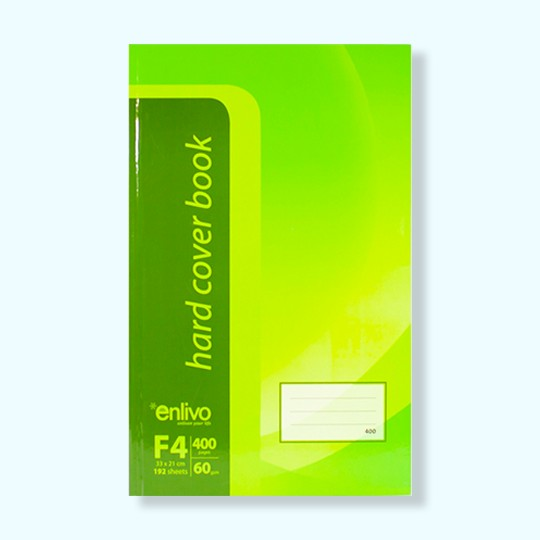 hard cover book enlivo stationary