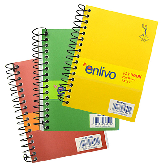 fat book enlivo stationery