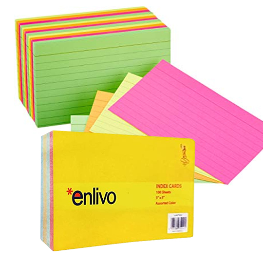 Index Card (540x540)px enlivo product stationery