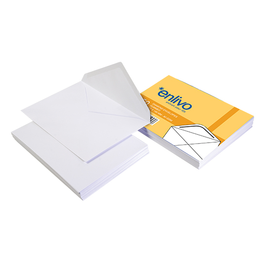 White Diamond Envelope