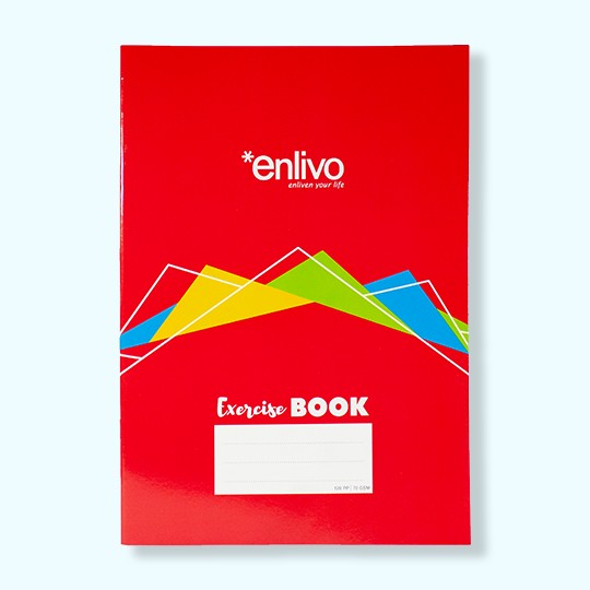 A4 Enlivo stationary book