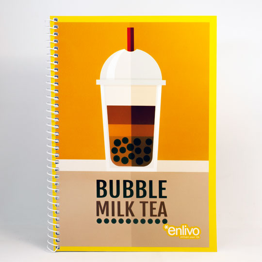 spiral notebook enlivo stationery products