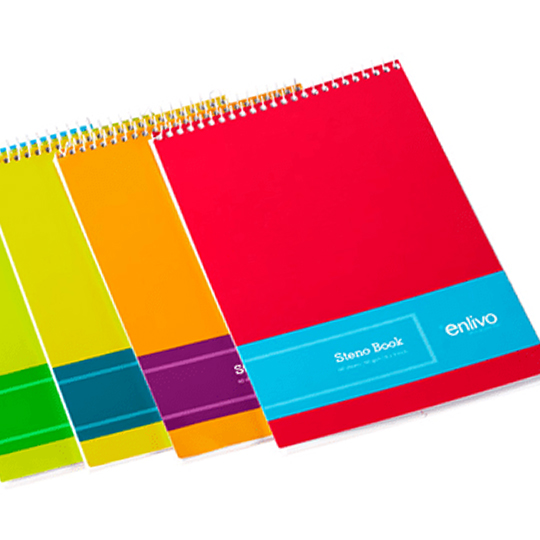 Steno book enlivo stationery